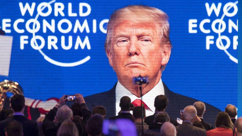 World Economic Forum 2018 in Davos, Switzerland - 26 Jan 2018