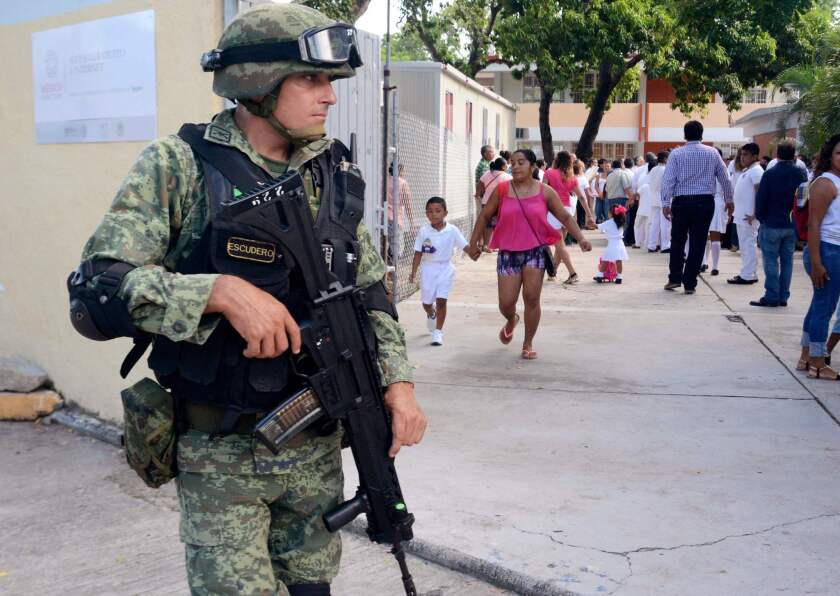 MEXICO-SCHOOL-YEAR-SECURITY