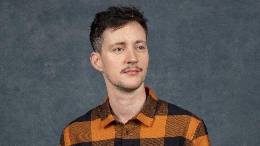 "Director Rhys Ernst of the film ""Adam"" at the Sundance Film Festival."