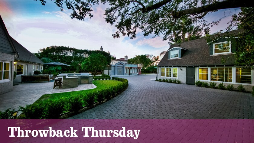 The Toluca Lake home once belonged to jazz trumpeter Manny Klein.