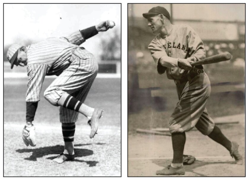 Yankees pitcher Carl Mays and Cleveland shortstop Ray Chapman are forever linked in baseball history.