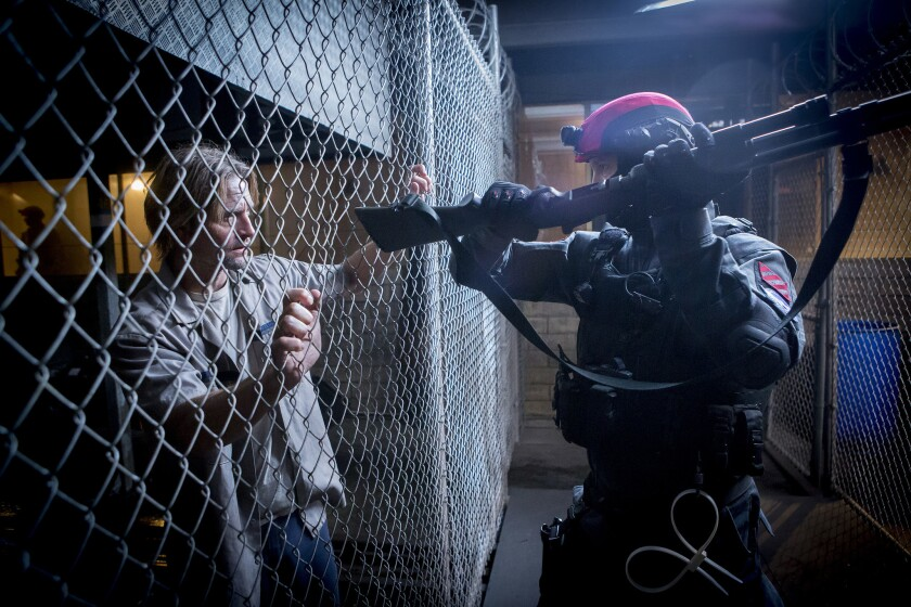 """Josh Holloway as Will Bowman in """"Colony."""""""