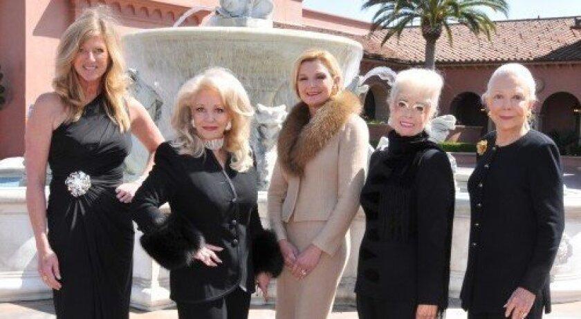 Kristi Pieper, Phyllis Parrish, Joye Blount, Sally B. Thornton and Jeanne Jones (Photo: Vincent Andrunas)