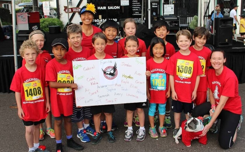 Solana Ranch runners placed third in the Junior Carlsbad race.