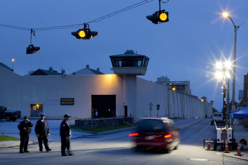 Security staff members and administrators at the Clinton Correctional Facility in Dannemora, N.Y., have been placed on administrative leave.