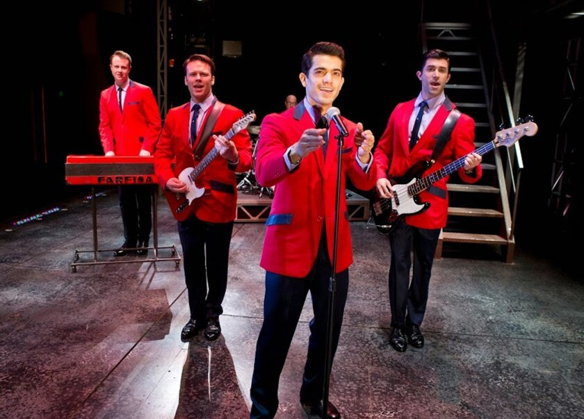 Tony-Award winning 'Jersey Boys,' focuses on The Four Seasons singing group.
