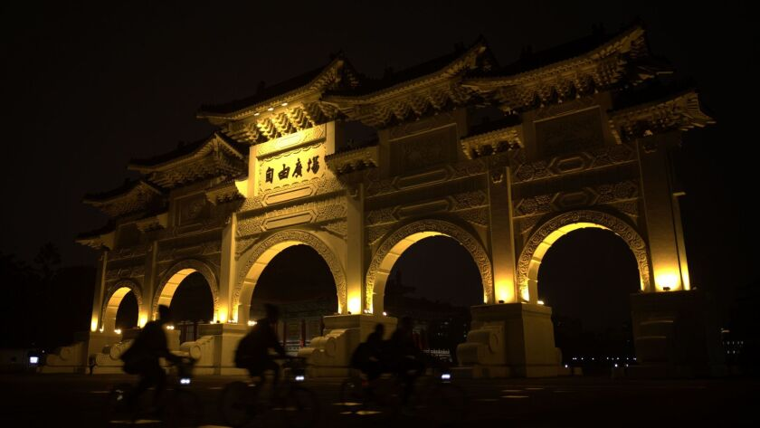 You can fly round-trip from LAX to Taipei on United $402 and can see Liberty Square in Taipei.