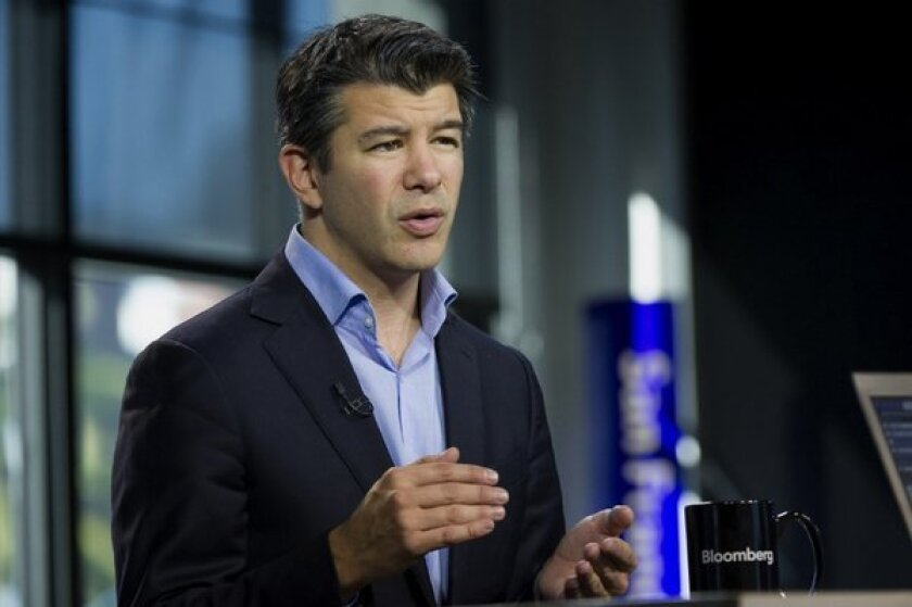 Travis Kalanick, chief executive of Uber Technologies: Let the people walk!