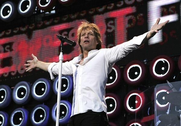 1) Bon Jovi