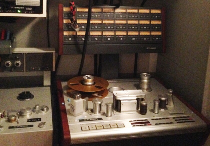 Vintage audio recorder from the collection of Frank Zappa