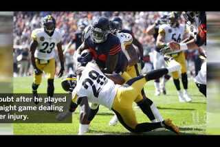 Jordan Howard toughs out another aggravating shoulder Sunday, can likely keep doing so