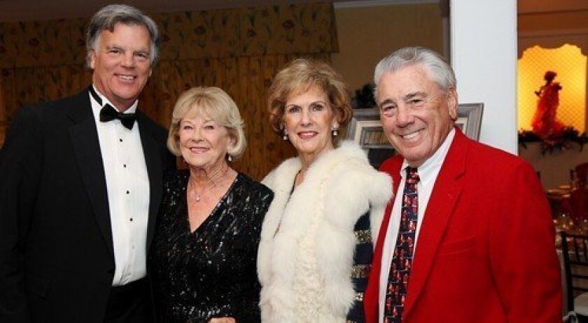 Scott and Rosemary Nauert, Mary Ann and Vearl Smith (Photo: Jon Clark)