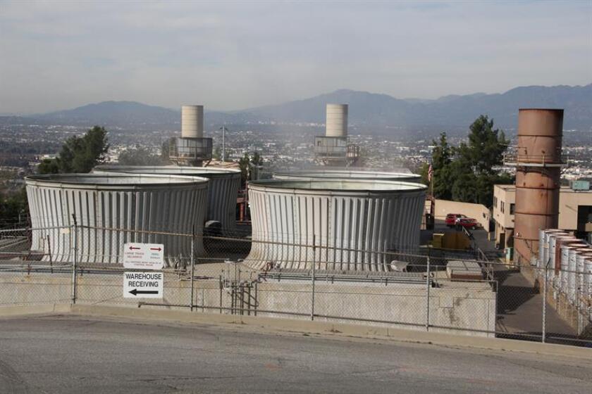 Fotografía de una planta de gas metano. EFE/Archivo
