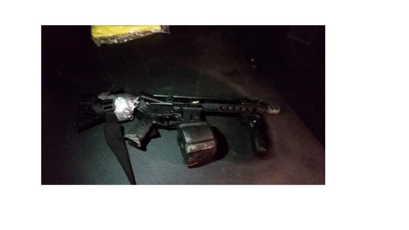 Vallejo police said they recovered an assault-style rifle that was used to try to assassinate two officers.