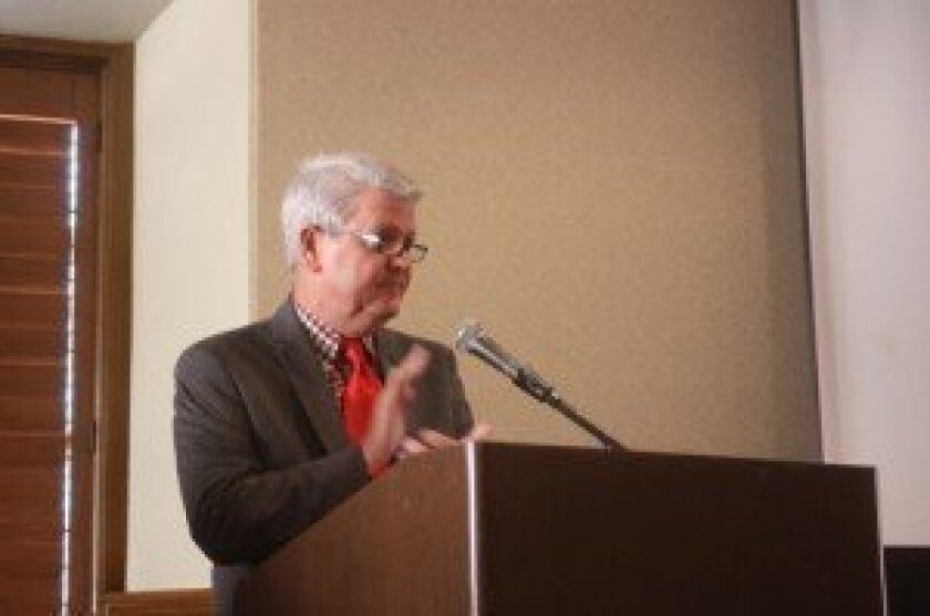 La Jolla Historical Society Executive Director Heath Fox.