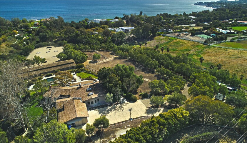 Malibu's Sundance Ranch, once owned by director George Roy Hill, is on the market for $13.95 million, down $4 million from its original asking price.