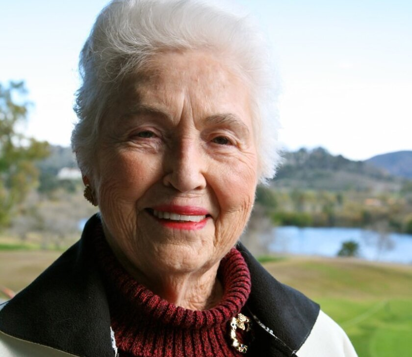 "Winona Ruth Gunther of Solana Beach offers a personal look of what it was like for women to serve during World War II in ""What Would Your Father Say?"""