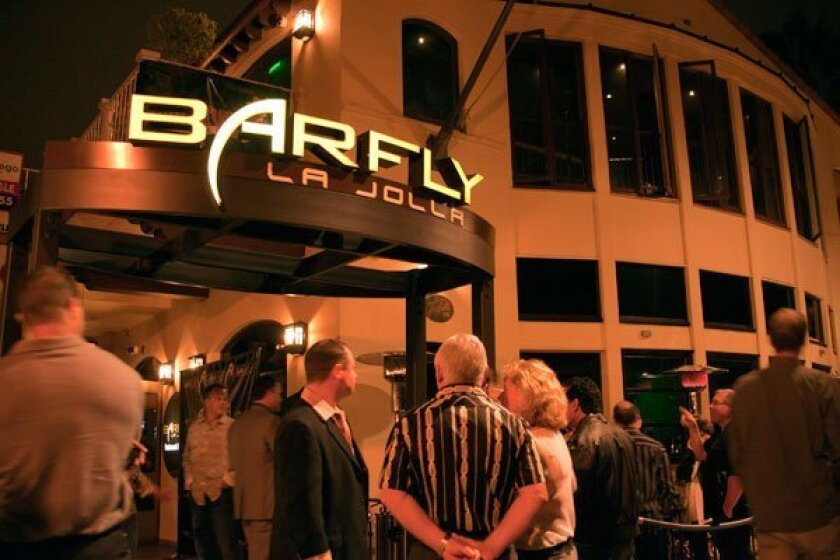 People wait to get into BarFly. Photos by Kent Horner