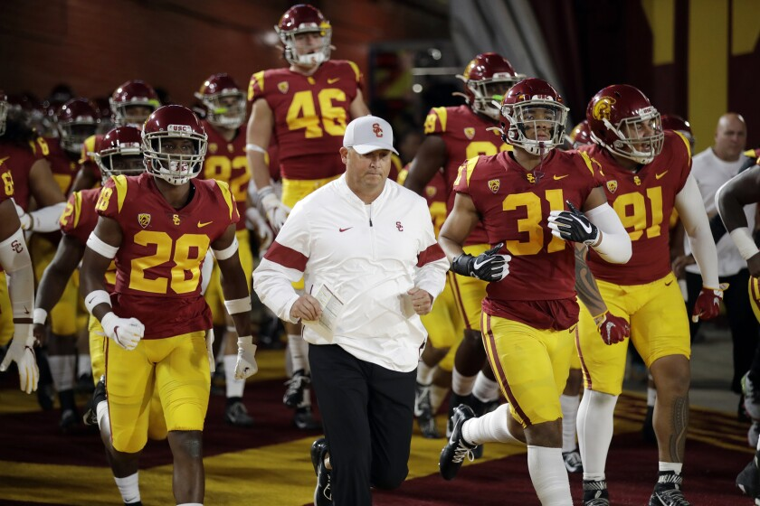 Clay Helton learned this week that he will be returning as USC head coach. Now it appears the Trojans will be returning to the Holiday Bowl for the first time since back-to-back appearances in 2014-15.