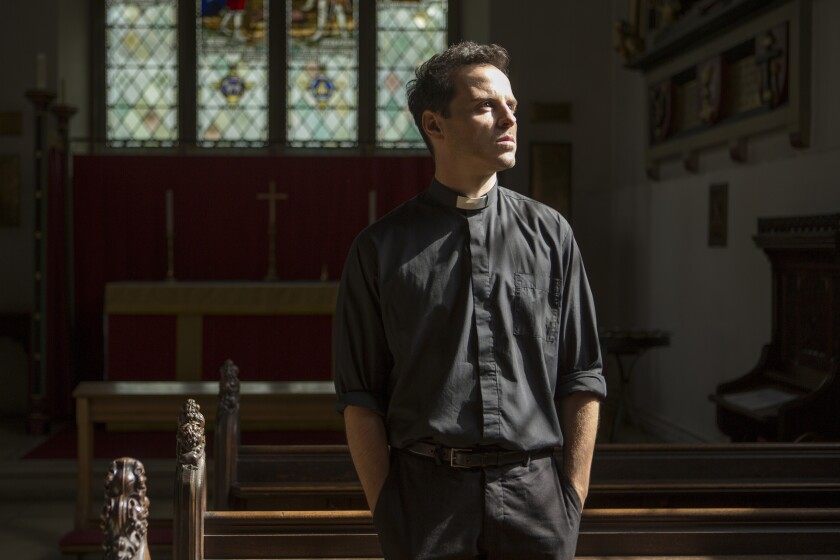 "Andrew Scott was part of ""Fleabag's"" Emmy win for outstanding comedy, but it took the Golden Globes to nominate him for his performance as the Hot Priest."