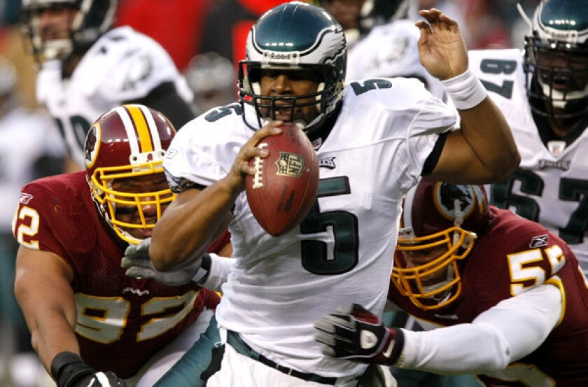 5d71357c Donovan McNabb to officially retire as a member of the Eagles - Los ...