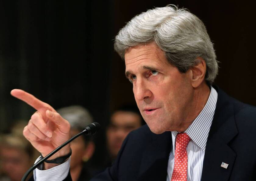 Secretary of State John Kerry urges against new Iran sanctions