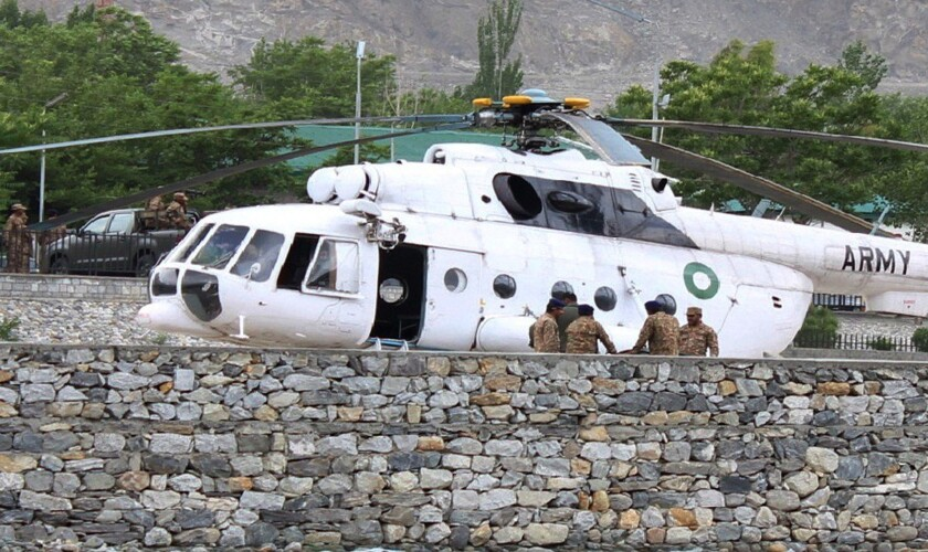 Pakistan chopper crash