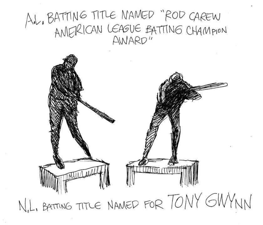 N.L. Batting Title Named For Tony Gywnn