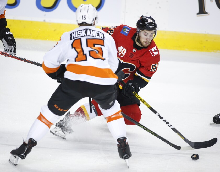 Flyers Flames Hockey