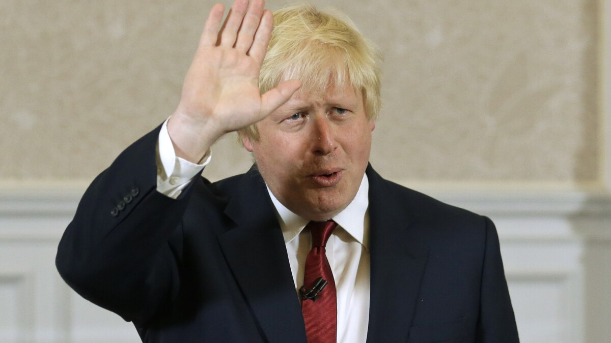 Editorial: Boris Johnson's victory in the U.K. election means there's no going back on Brexit