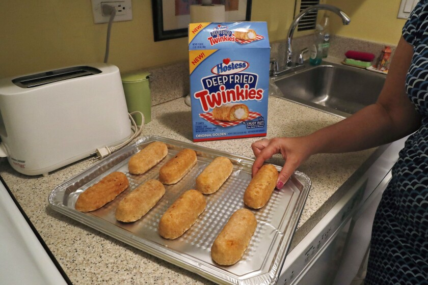Hostess is launching packaged Deep Fried Twinkies, which mark its first foray into frozen foods.