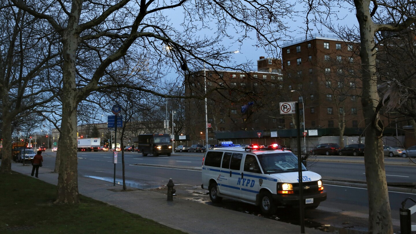 A police shooting in New York