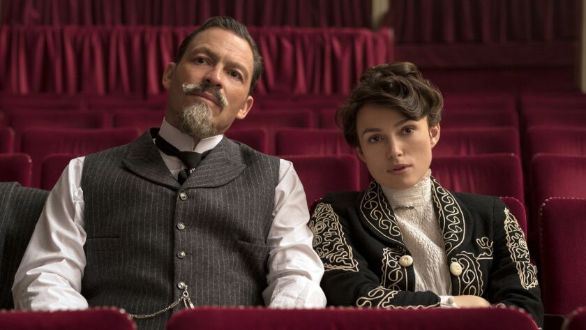 Dominic West stars as Willy and Keira Knightley as Colette in COLETTE, a Bleecker Street release. Cr