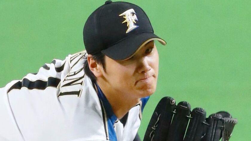 Baseball: Fighters' ace Otani flashes heat on comeback trail