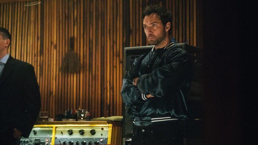 "Jude Law in a scene from ""Vox Lux."" Credit: Atsushi Nishijima"