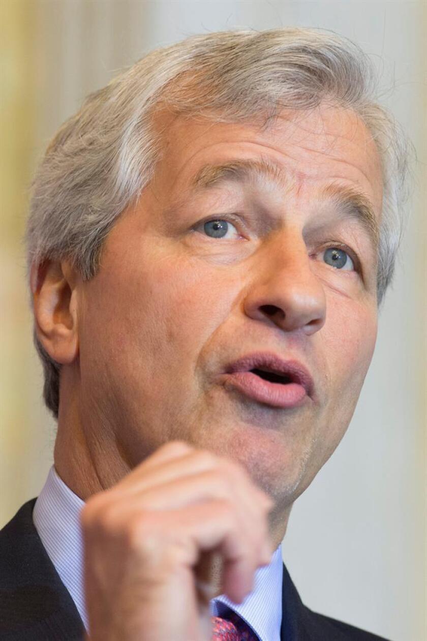 El consejero delegado de JPMorgan Chase, Jamie Dimon. EFE/Archivo