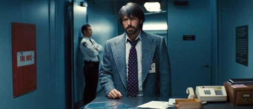 "Ben Affleck in ""Argo"" on HBO."