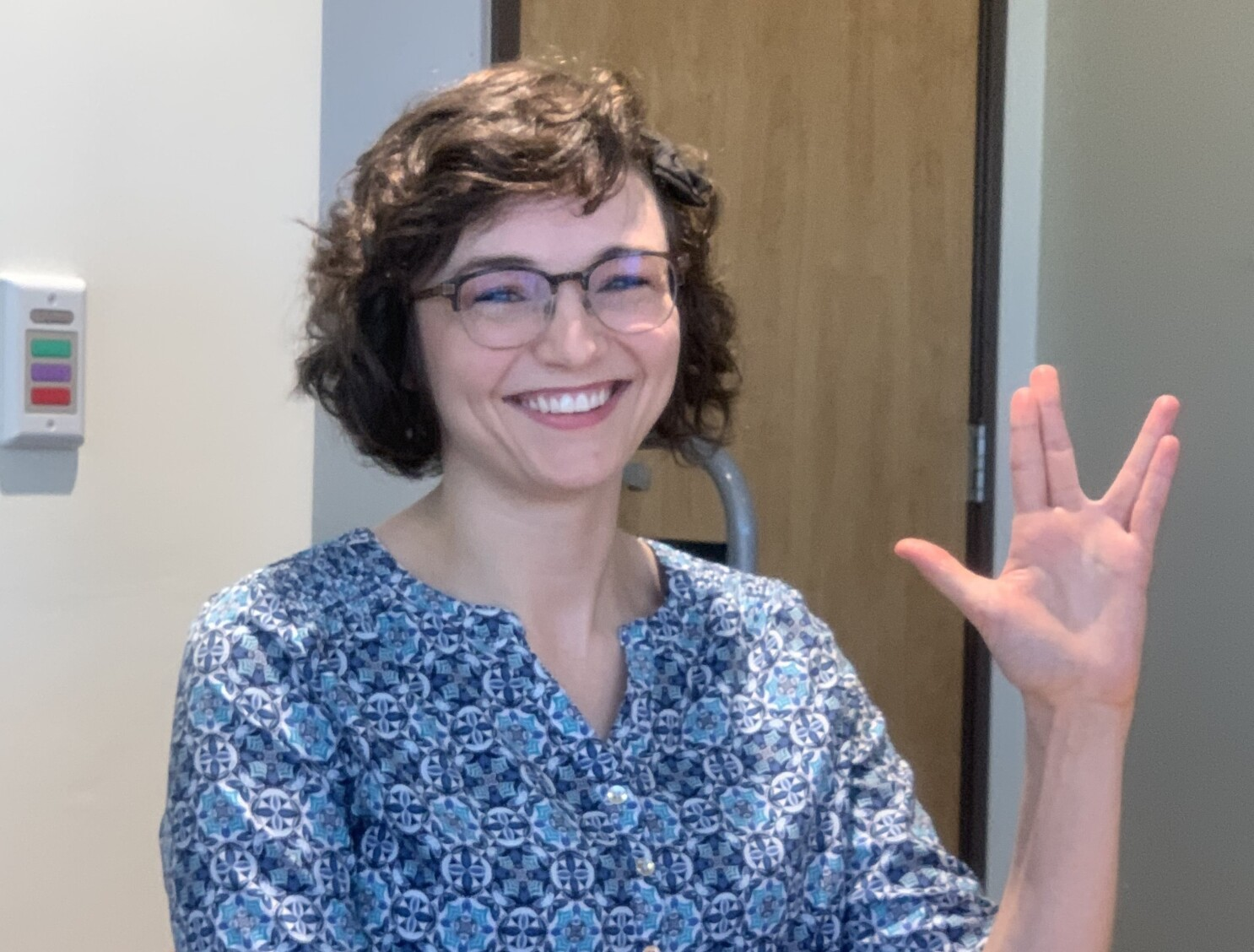 A young woman can now live long and prosper, after brain surgery cures her of seizures - Los Angeles Times