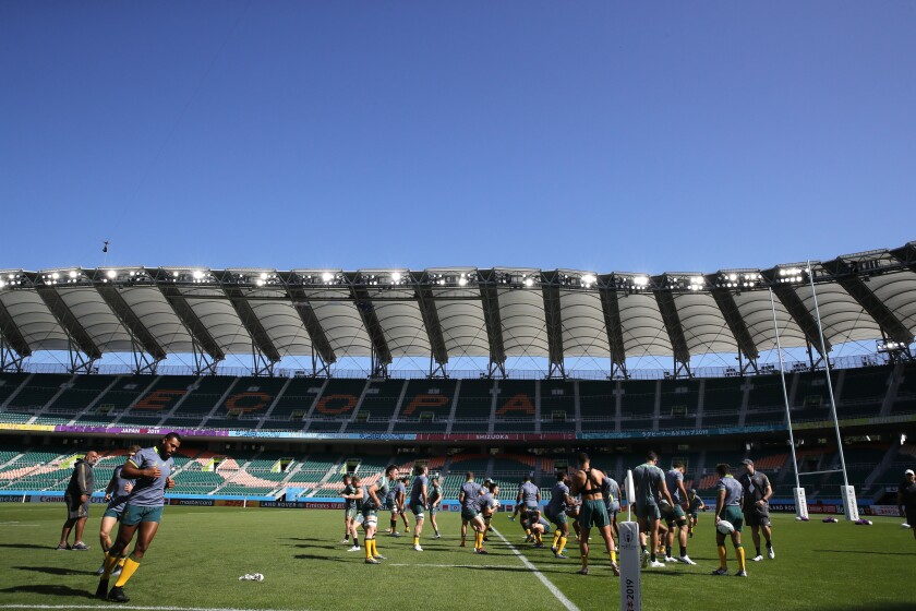 Japan Rugby WCup Australia