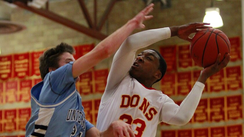 Cathedral Catholic senior Xavier Williams is an offensive force for the Dons.