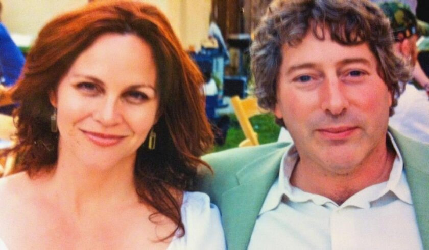 Denise Young and husband David Ellenstein are performing 'Love Letters' at North Coast Rep.