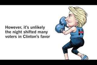 LA 90: Clinton and Trump debate one recap