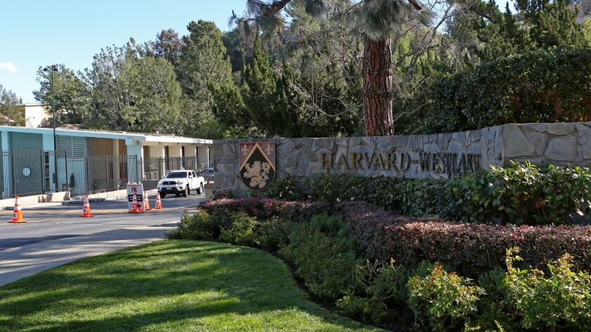 """A """"security risk"""" prompted authorities to close the campus of the Harvard-Westlake High School in Studio City on Friday morning."""