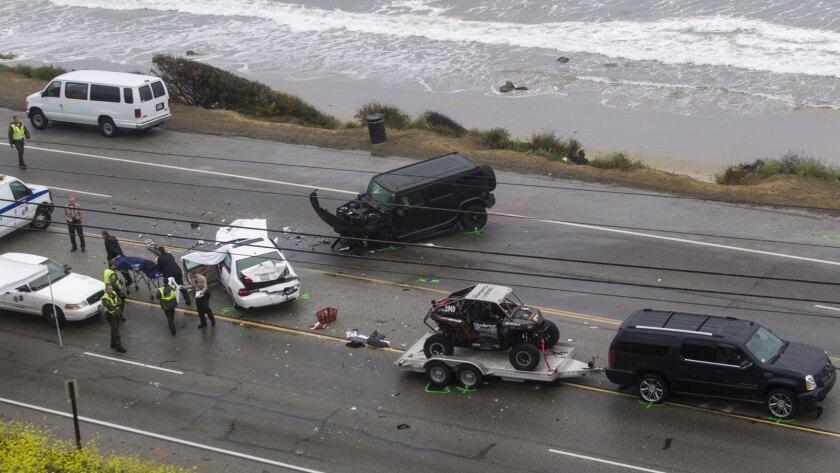 Bruce Jenner crash
