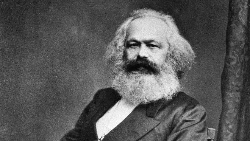 Karl Marx (1818-1883), philosopher and German poli