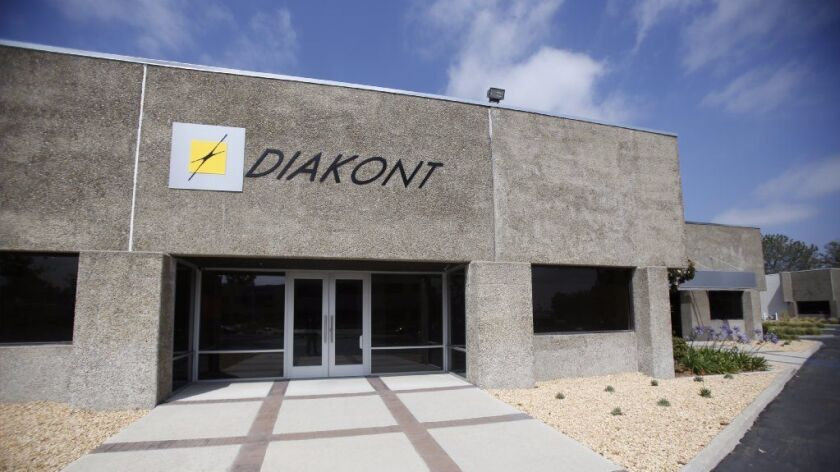 The San Diego offices of Diakont.