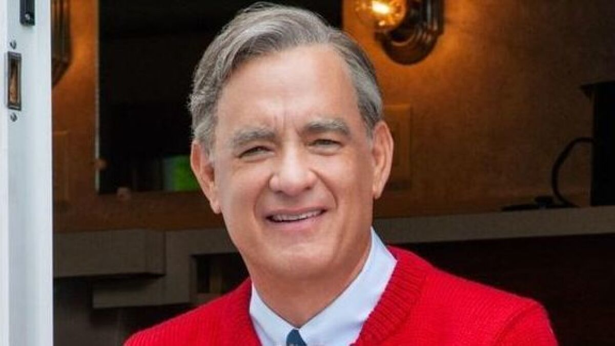 How Tom Hanks Finally Nailed Mister Rogers Iconic Opening In A Beautiful Day In The Neighborhood Los Angeles Times