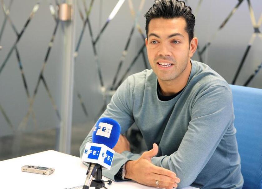 """El delantero venezolano Nicolás Fedor """"Miku"""", durante una entrevista con la Agencia Efe, en Madrid. EFE/Archivo"""