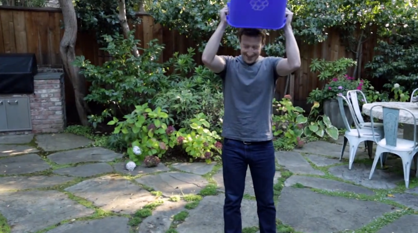 Mark Zuckerberg is among the notable individuals from the tech world to partake in the Ice Bucket Challenge to raise awareness for ALS.