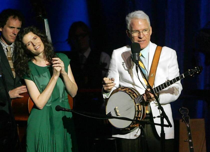Steve Martin and Edie Brickell get back to their roots via